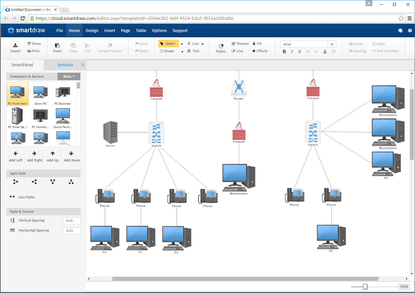 Microsoft Network Diagram Tool