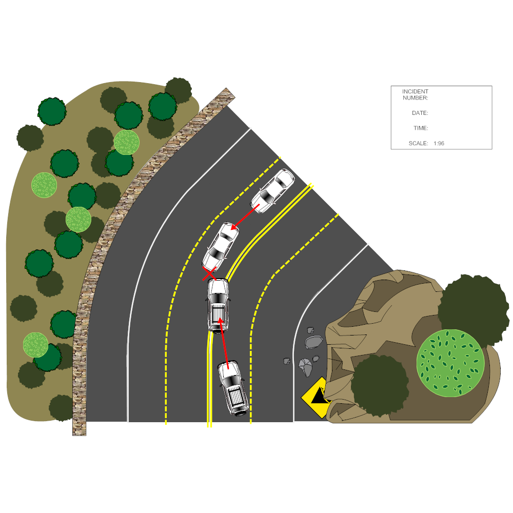 Example Image: Accident Reconstruction Diagram
