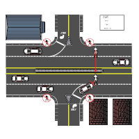Crossing Road Accident Reconstruction