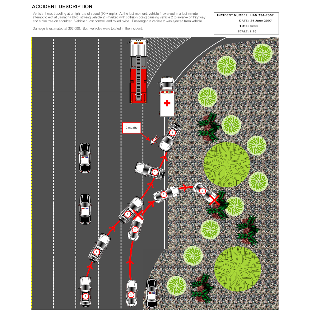 Example Image: Freeway Accident Reconstruction