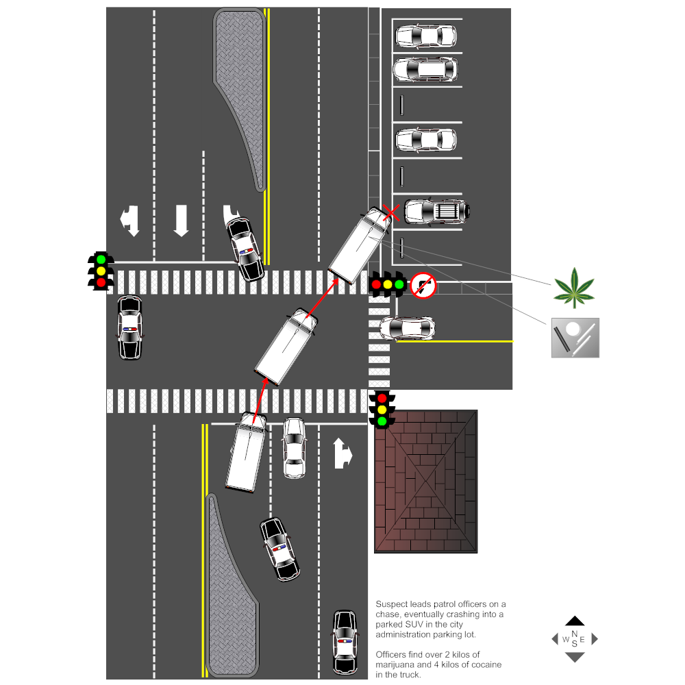 Example Image: Patrol Chase Accident Reconstruction