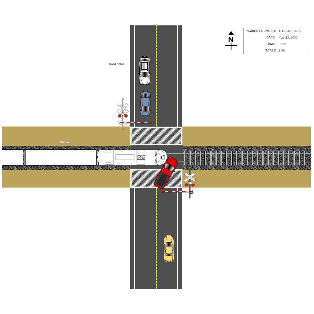 Example Image: Train Car Accident Reconstruction