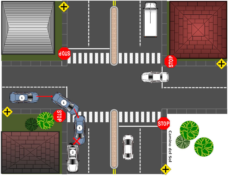 accident reconstruction   how to prepare an accident    accident reconstruction diagram example