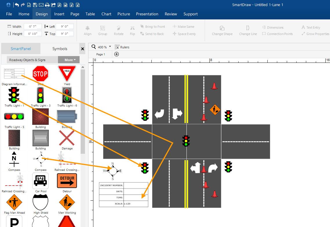 Adding traffic lights