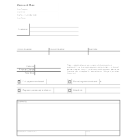 accounting form templates
