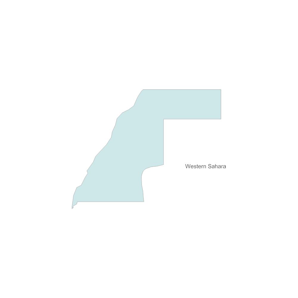 Example Image: Western Sahara
