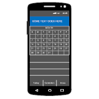 Android - Calendar - 1