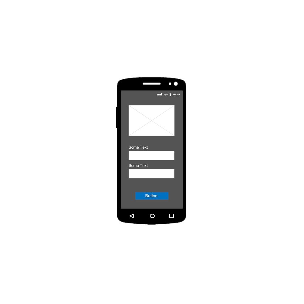 Example Image: Android - Login - 1