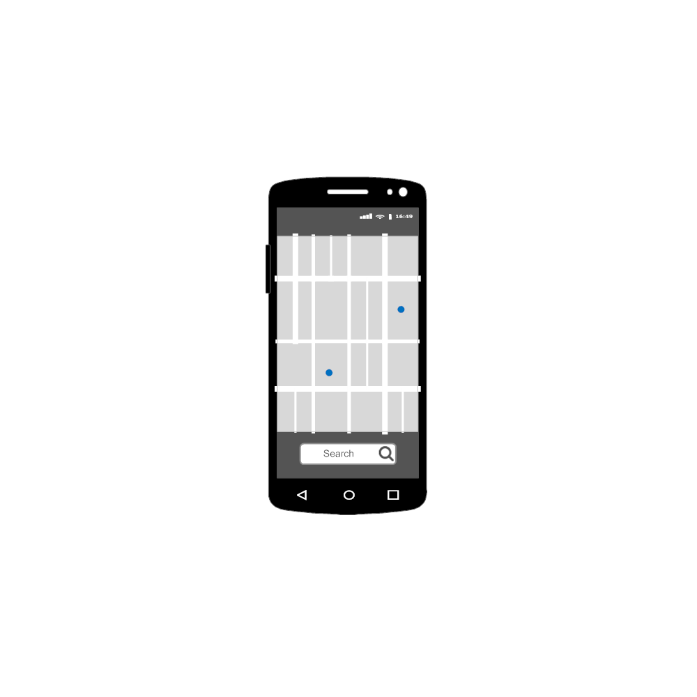 Example Image: Android - Map