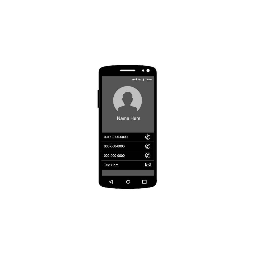 Example Image: Android - Profile