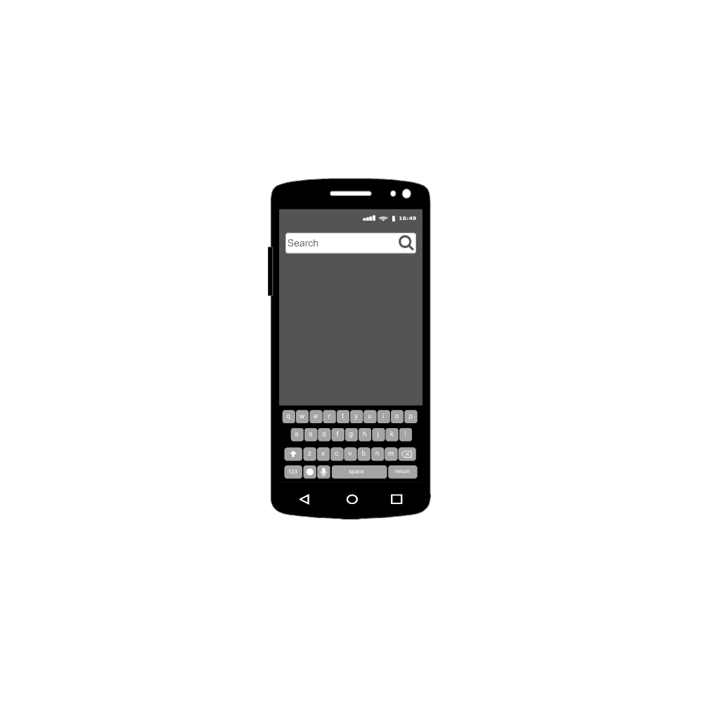 Example Image: Android - Search