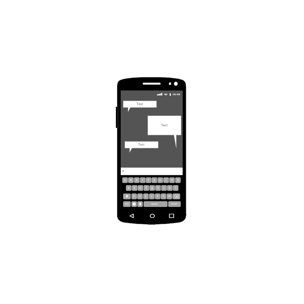 Example Image: Android - Text - Screen