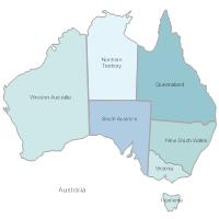 Australia and New Zealand Maps