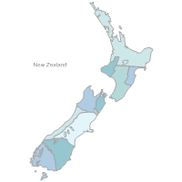 New Zealand Map