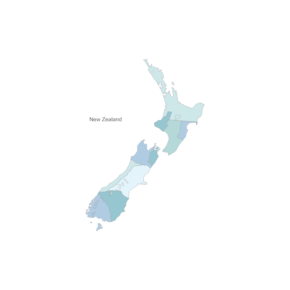 New Zealand Map - New zealand map png