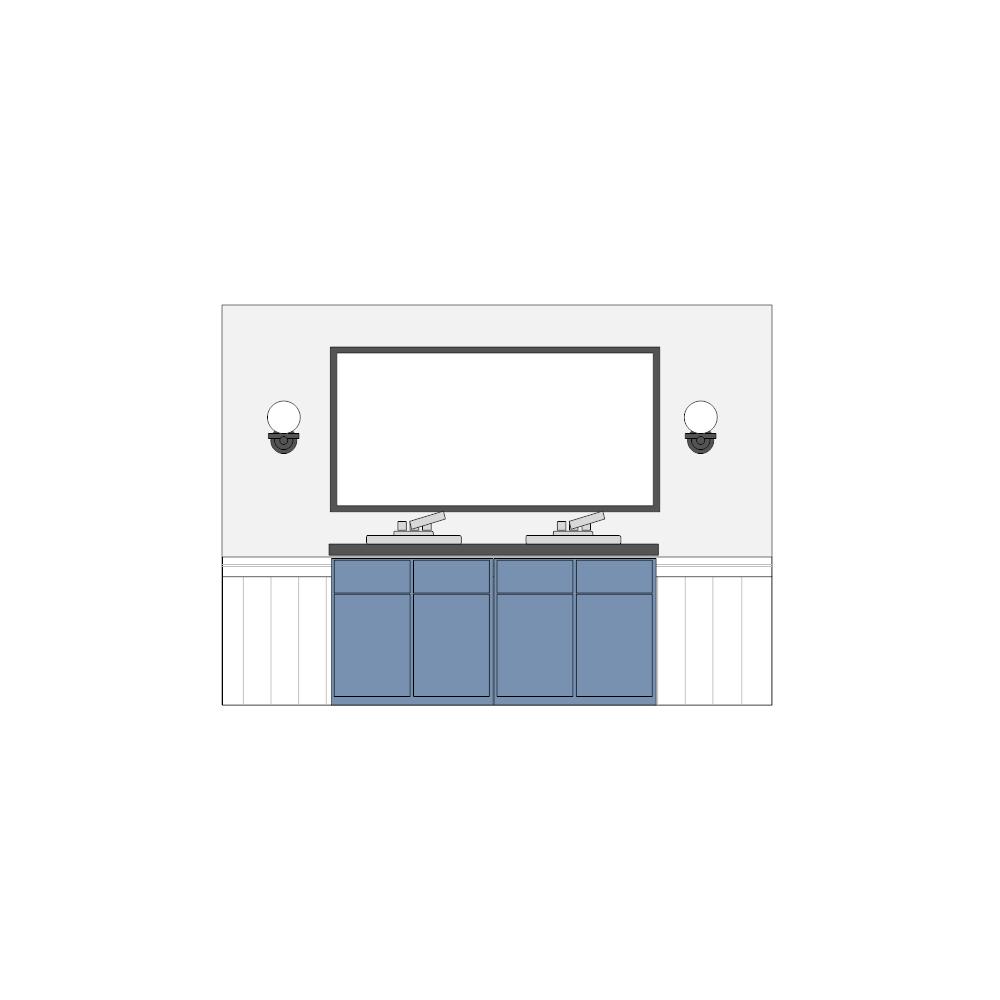 Example Image: Bathroom Elevation - 2