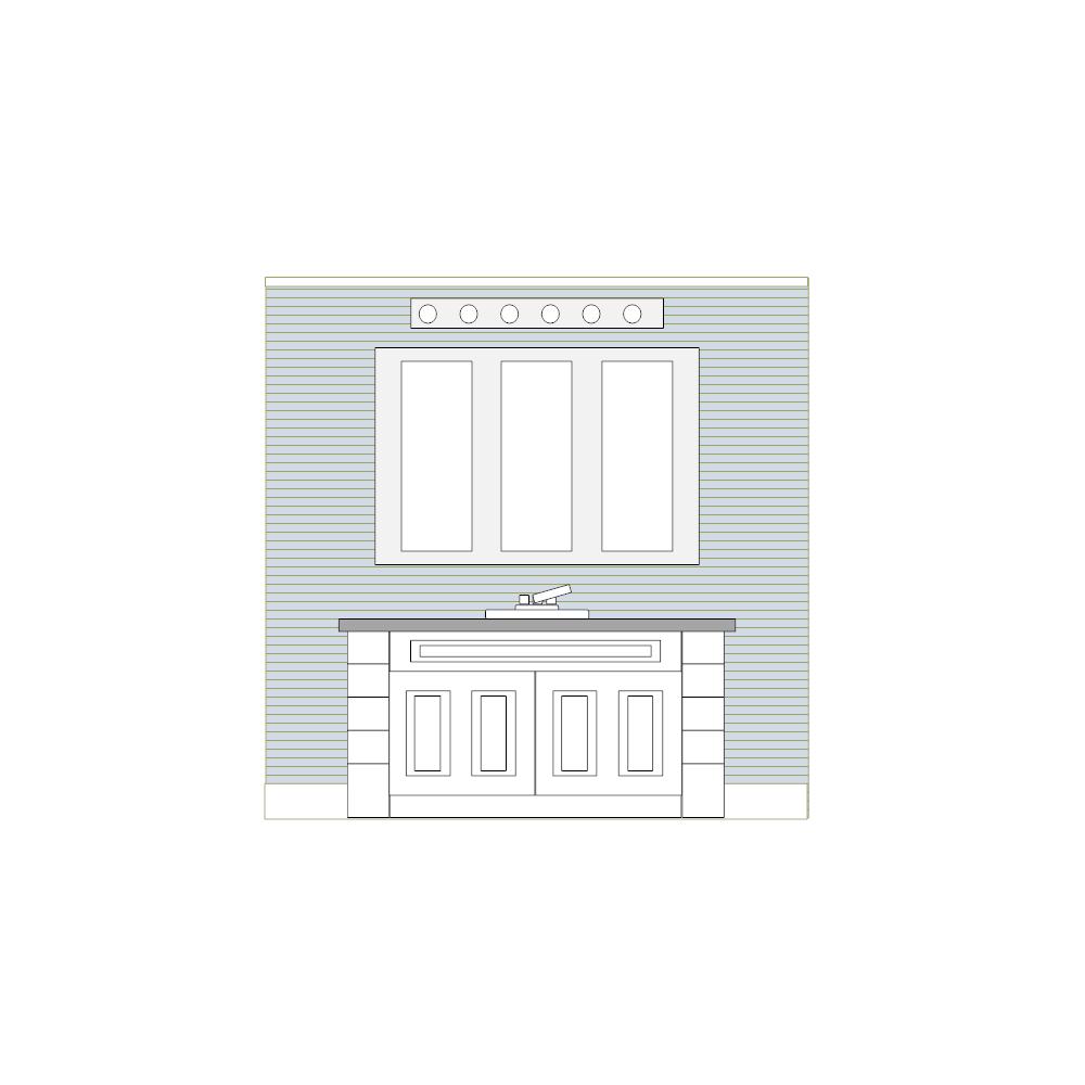 Example Image: Bathroom Elevation - 3