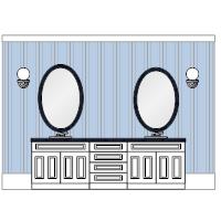 Bathroom Elevation Examples
