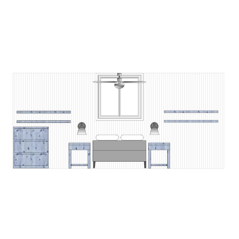 Example Image: Bedroom Elevation - 3