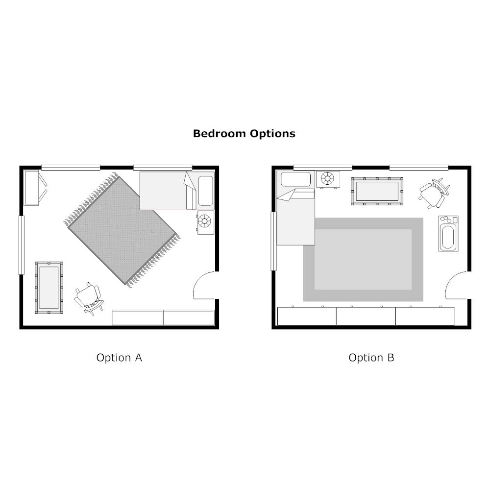 Example Image: Bedroom Plan