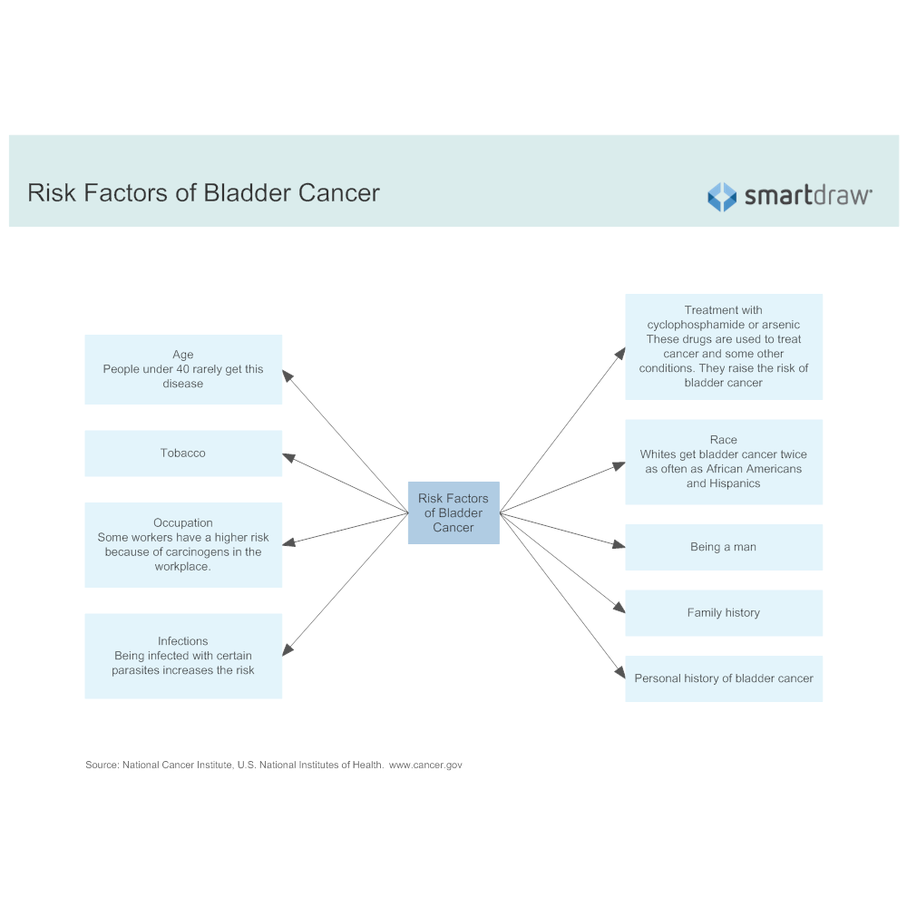 Example Image: Risk Factors of Bladder Cancer