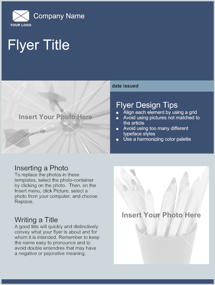 create a free printable flyer
