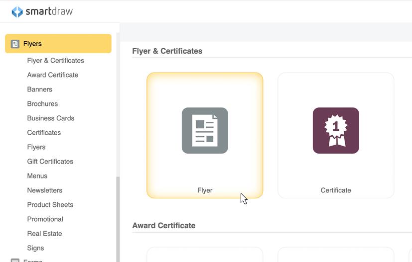 flyer maker and design software