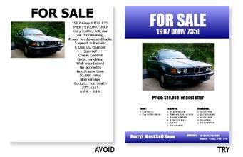 Group Related Elements Sale Flyer Design  Car Sale Flyer