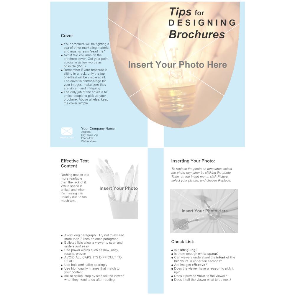 Example Image: Bi-fold Brochure