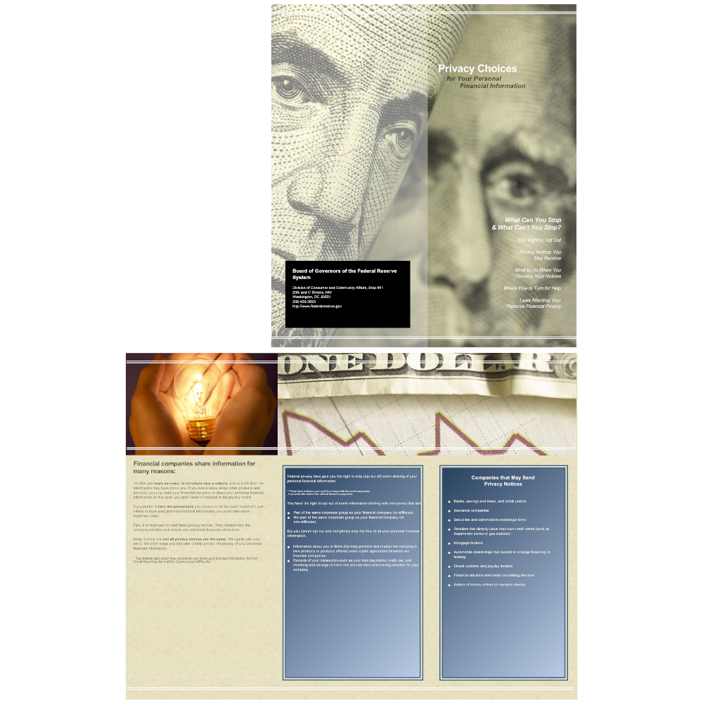 Example Image: Brochure Template