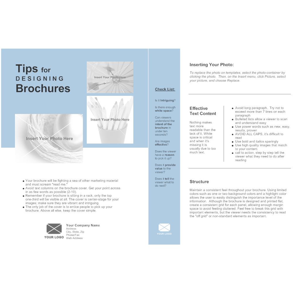 Single Page Brochure - Easy brochure template