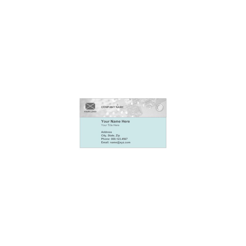 Business card template colourmoves