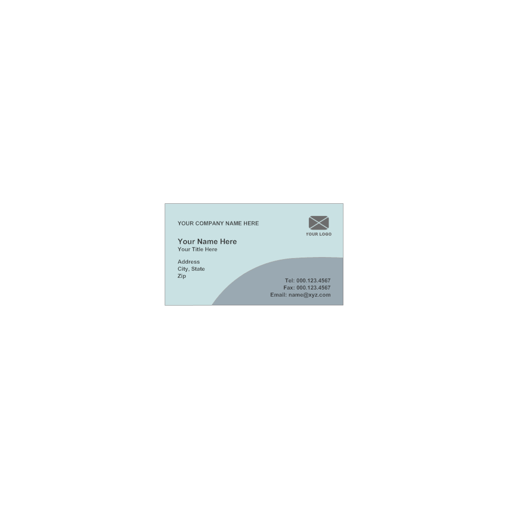 Example Image: Business Card