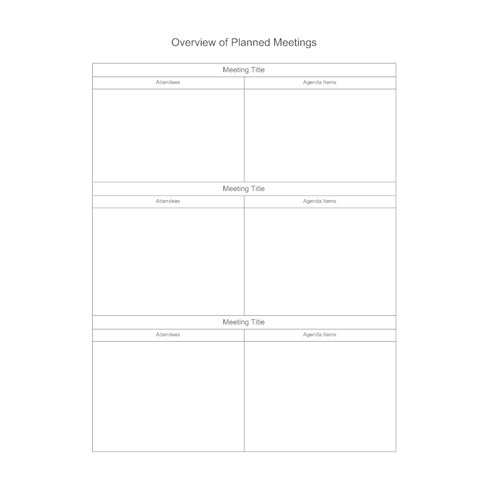 Example Image: Meeting Overview
