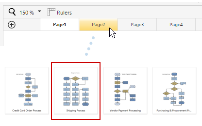 Support for multiple pages