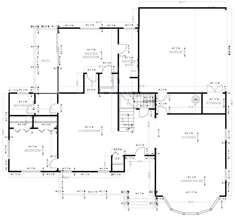 CAD blueprint