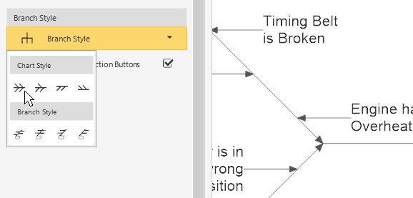 How to make a fishbone or cause and effect diagram change branch style ccuart Images