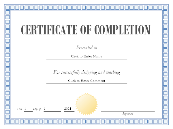 professional certificate maker free online app and download for