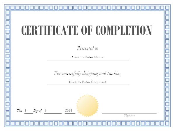 certificate maker - Smartdraw Certificate Templates