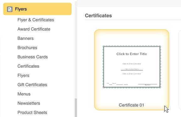 certificate template software try it free and create