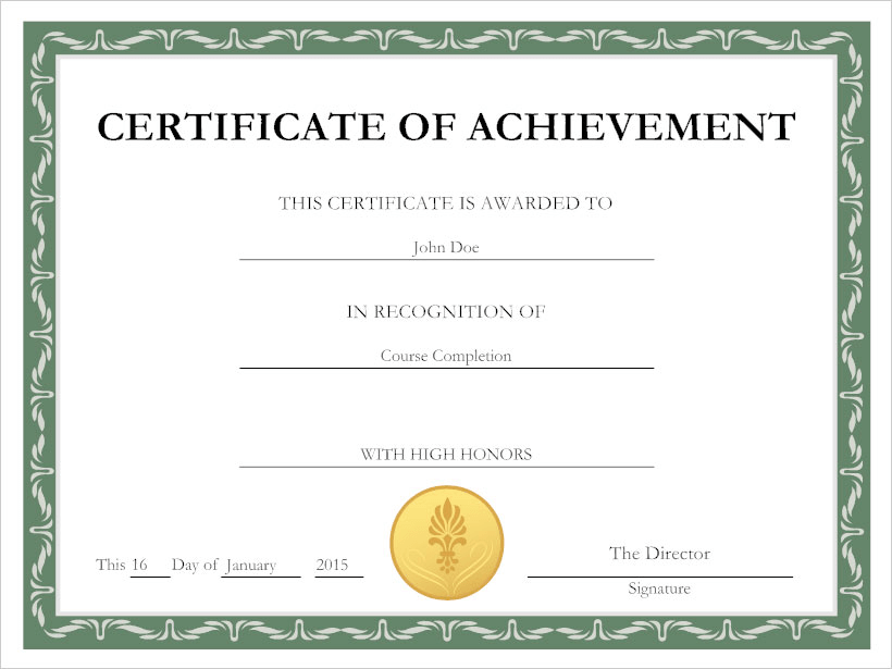 make a certificate of completion  Certificate Maker | Free Online App