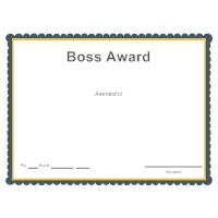 Boss Award