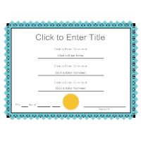 Certificate templates certificate example 10 yadclub Image collections