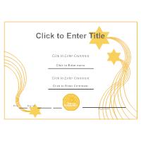 certificate example - Certificates Templates