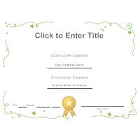 Certificate Template 3