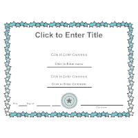 Certificate Template 6