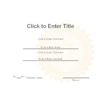 Certificate templates certificate template yadclub Images