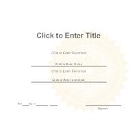 certificate template - Smartdraw Certificate Templates