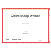 Citizenship Award