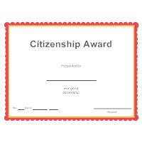 Citizenship Award